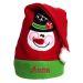 Gorro de duende de la Navidad bordado para niño
