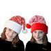Gorro navideño tejido