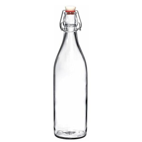 Botella en vidrio con tapón mecánico