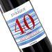 Botella de vino personalizada cumpleaños