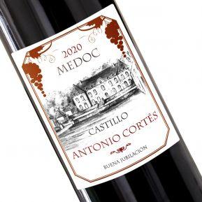 Botella de vino personalizada Tradición
