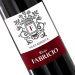 Botella de vino personalizada insignia
