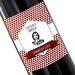 Botella de vino personalizada Sello rojo