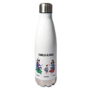 Botella térmica personalizada superhéroe