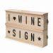 Caja de vino Panel cinemático