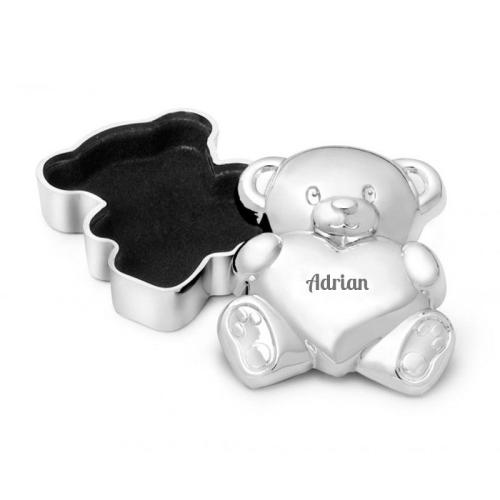 Caja de dientes oso personalizada