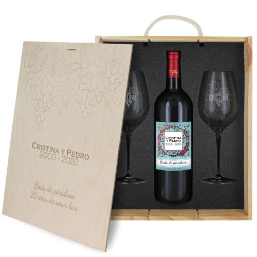 caja de regalo Vinedo