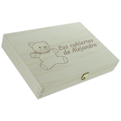 Caja personalizada oso