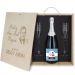 Caja de regalo Día del Padre : botella de champán y dos copas