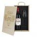 Caja de regalo Amor - Botella de vino y copa personalizadas