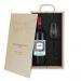 Caja de regalo Viñedo- Botella de vino y copa personalizadas