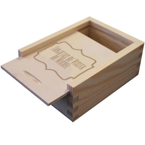 Caja de tarjetas de presentación