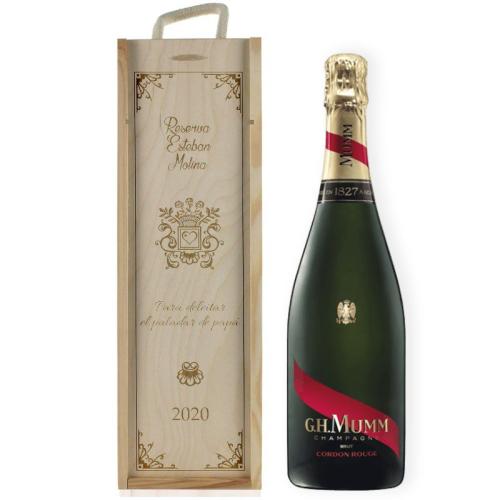 Caja de champana tradición Personalizada