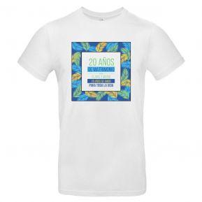 Camiseta hombre personalizada palmeral