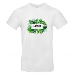 Camiseta hombre personalizada palmeras