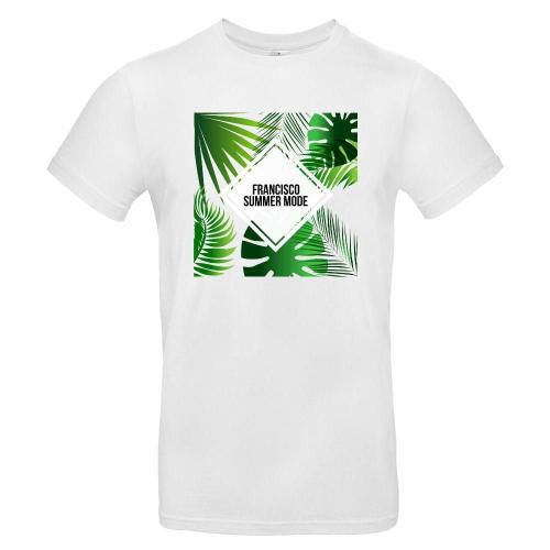 Camiseta hombre Summertime blanco