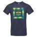 Camiseta hombre personalizada palmeral azul