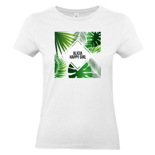 Camiseta mujer Summertime blanco