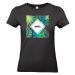 Camiseta mujer Summertime negro