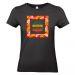 Camiseta mujer personalizada palmeral negro
