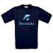 Camiseta niño personalizada azul marino