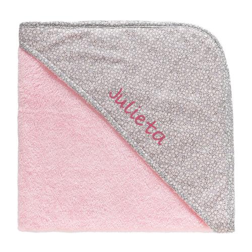 Capa de baño personalizada para niña