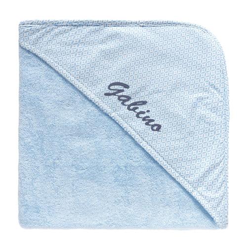 Capa de baño personalizada para niño