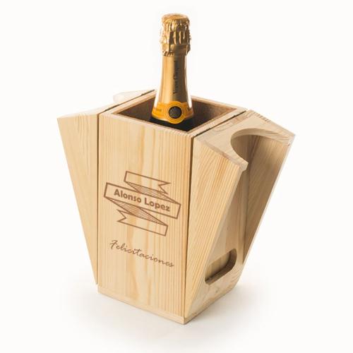Caja refrescante para champán