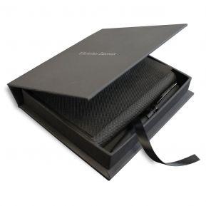 Set Christian Lacroix cuaderno y bolígrafo personalizado