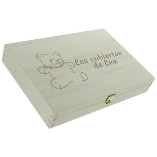 Cofre cerrado y personalizado con osos