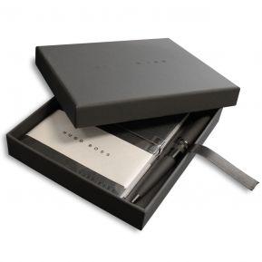 Set Hugo Boss cuaderno y bolígrafo grabado
