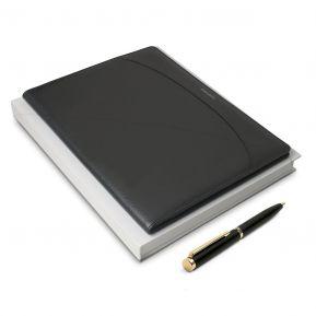 Set portafolio Nina Ricci bolígrafo y bloc de notas