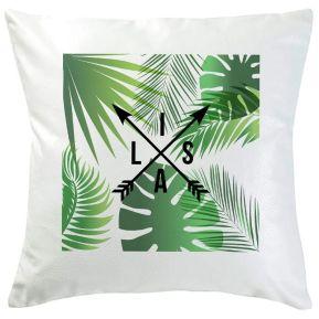 Cojín personalizado palmeras y flechas