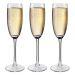 Copas de champaña personalizadas con nombre