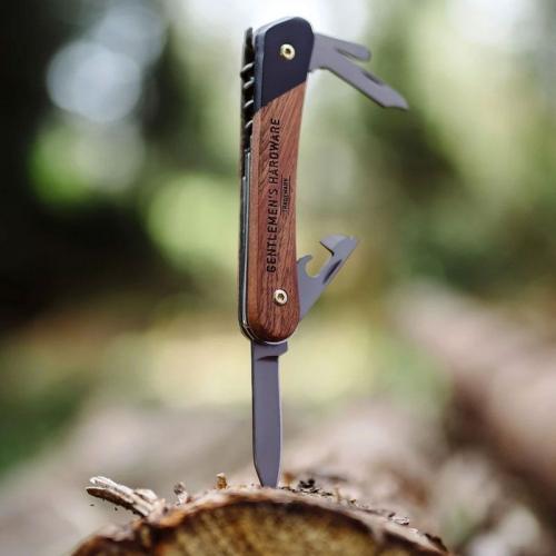 Cuchillo multifunción grabado Gentlemen's Hardware