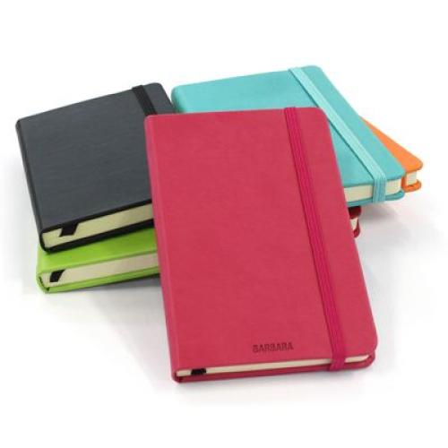cuaderno de notas en cuero personalizado