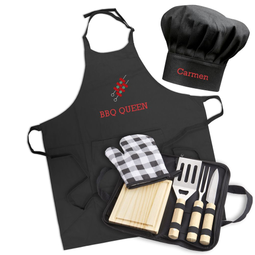 Delantal de BBQ personalizado