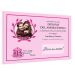 Diploma personalizado con foto rosa