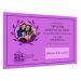 Diploma personalizado con foto violeta
