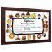 Diploma de la mejor maestra madera