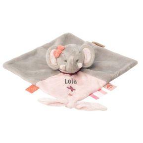 Peluche Eva la elefante personalizada