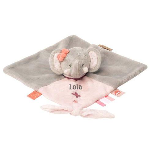 Doudou Eva el elefante personalizado