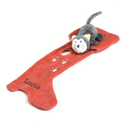Doudou gato con botas personalizado