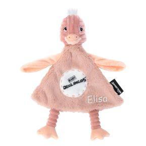 Peluche personalizado de Pomela, la avestruz