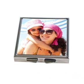 Espejo de bolsillo personalizado con foto