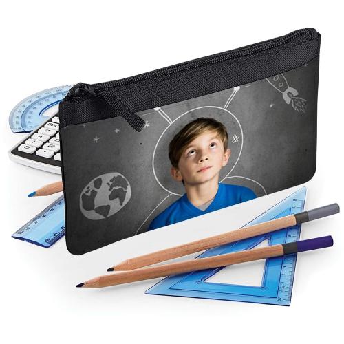Estuche escolar personalizado con foto