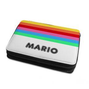Estuche grande para lápices rainbow