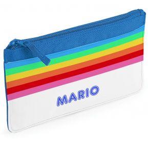Estuche escolar personalizado rainbow