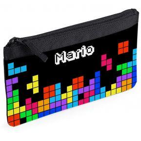 Estuche escolar personalizado tetris