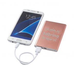 Bateria móvil personalizada 4000 mAh